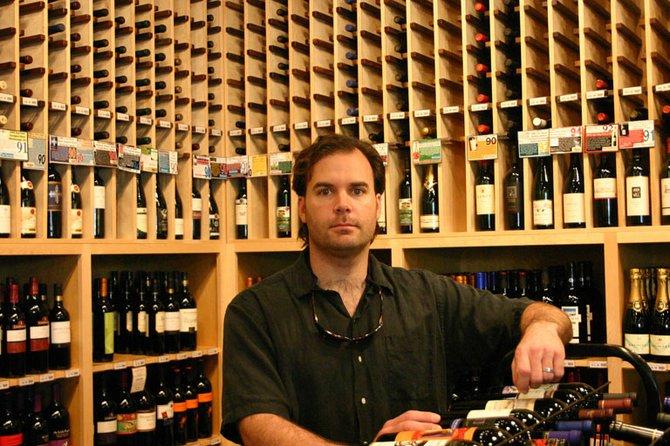 Tasho Katsaboulas runs Kats Wine Cellar.