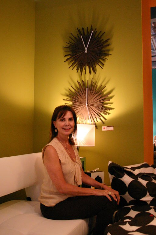 Shopkeeper Tommie Goodman showcases stylish, contemporary home furnishings in Max.