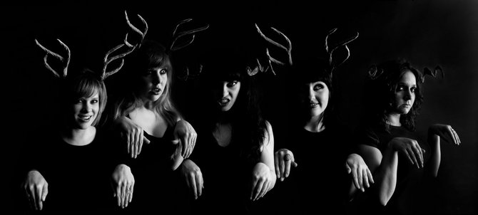 The all-girl band Wild Emotions boasts music veterans and band novices.