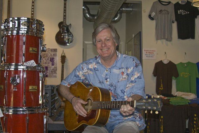 Bill Kehoe played with Jimmy Buffett at USM.