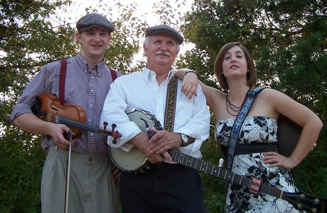 As the Dillonaires, Sherman Lee (center), Anna Lee and Andrew John Dillon show a Mississippi side of family folk music.