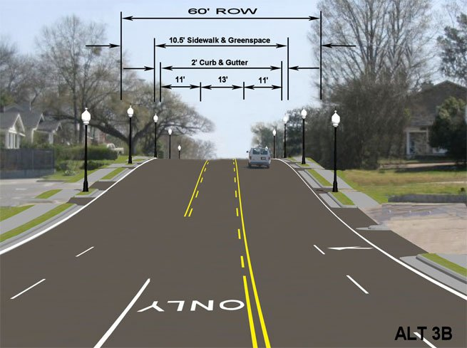 The city of Jackson intends to narrow Fortification Street, cutting off commuter traffic.
