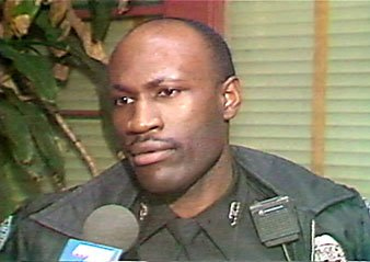 """Officer R. J. Washington was killed in 1995. DA Robert Smith now alleges a """"cover-up"""" in his murder."""